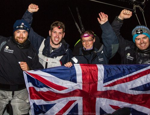 Length of Britain Record Smashed on Artemis IMOCA 60